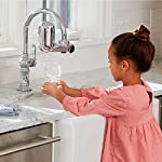 PUR FM-3700 Advanced Faucet Water Filter, Chrome 11 Advanced Faucet Filtration System: Featuring Sinple One Click Tool Free Attachment, There's Never Been an Easier or More Reliable Way to Get Healthier, Cleaner, Great Tasting Water Straight From Your Faucet Faucet Water Filter; PUR faucet filters provide 100 gallons of filtered water, or 2 3 months of typical use, before you need a replacement. Only PUR faucet filters are certified to reduce contaminants in PUR faucet filter systems WHY FILTER WATER? Home tap water may look clean, but may contain potentially harmful pollutants & contaminants picked up on its journey through old pipes. PUR water filters, faucet filtration systems & water filter pitchers reduce these contaminants