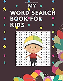 May Word Search Book For Kids: My First Crosswords Workbook - Ages _8to12, 1st to 2nd Grade, Activity Pad, Word Puzzles, W...