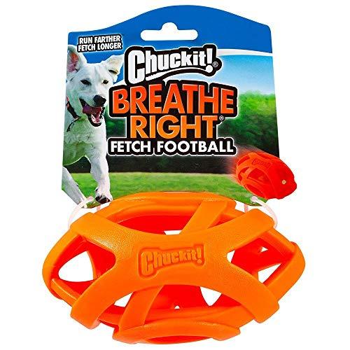Chuckit! Cu32217 Breathe Right Football, Kleiner Rugbyball Für Hund