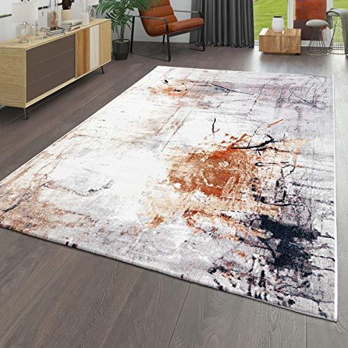 Tapis, Poils Ras pour Salon, Aspect Peinture Abstraite, Effet 3D, Coloré, Dimension:160x220 cm