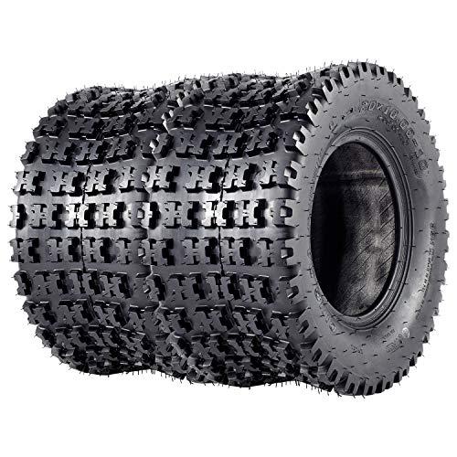 VANACC ATV Tires 20x10x10 Sport Quad GNCC Tire 20x10-10 20 inch, 4PR, Set of 2