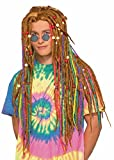 Forum Men's Generation Hippie Rainbow Dreads...