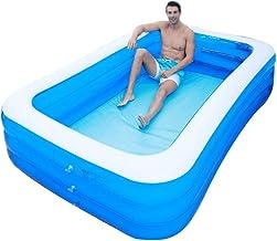 Opblaasbare badkuip, PVC volwassen draagbare extra groot bad, huishoudelijke dubbele bad, elektrische luchtpomp, non-slip ...