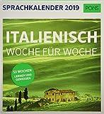 PONS Sprachkalender 2019: Italienisch Woche für Woche -