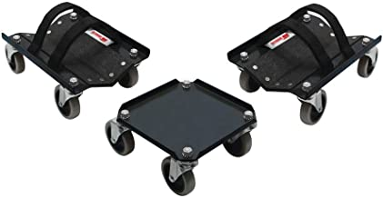 Extreme Max 5800.0232 V-Slides Snowmobile Dolly System - Steel, Black