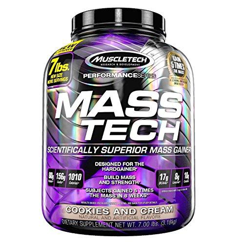 Muscletech Mass-Tech Performance Series - 3,2 kg Vainilla