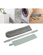 Senhui隙間ホコリクリーニングブラシ、移働と調節可能な伸縮棒ダストクリーニング工具、ベッドの底、ソファーの隙間の家庭用湿式と乾式平面クリーニング工具