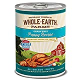 Whole Earth Farms Grain Free All Breed Wet Dog Food Puppy (12) 12.7 oz...