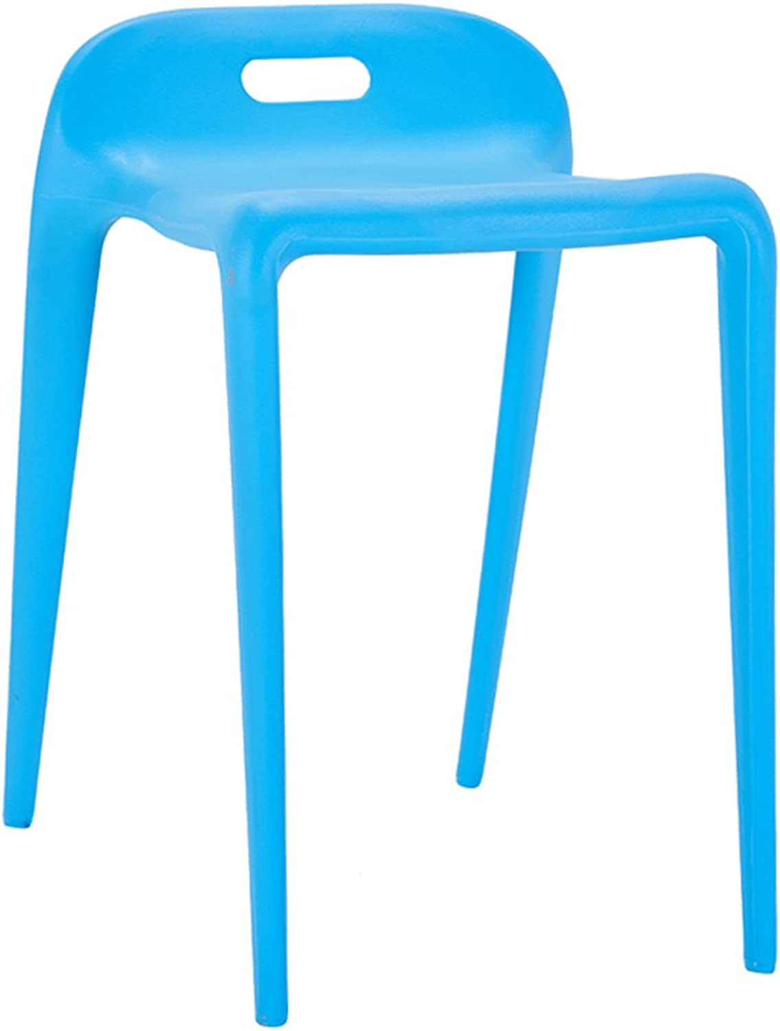 HZB Modern Fashionable Plastic Chairs, Family Dining Room Stools, Simple Restaurants Waiting for Rest Chairs.