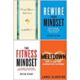 What I Know for Sure [Hardcover], Rewire Your Mindset, The Fitness Mindset, Meltdown 4 Books Collection Set