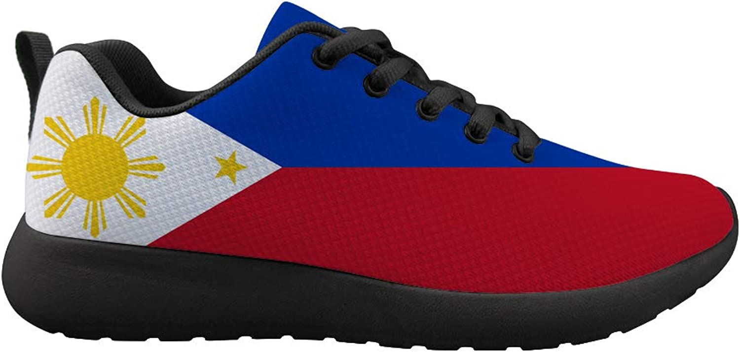 Owaheson Cushioning Sneaker Trail Running shoes Mens Womens Philippines Flag