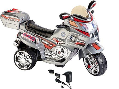Playtastic Kinder Crossbike: Kindermotorrad mit Elektroantrieb inkl. Netzteil (Elektrofahrzeuge für Kinder)