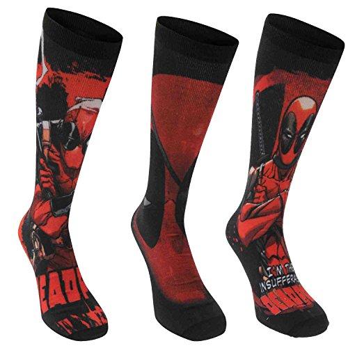6 pares / 3pares calcetines con diseños de superhéroes