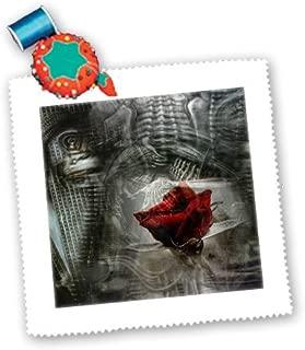 3dRose Gothic Laveau Hot Air Balloon Steampunk Art-Pillow Case 16-inch pc/_102668/_1