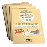 Pack Lecturas Comprensivas 1º Educación Primaria: Cuaderno 4, 5 y 6 Mejora Comprensión Lectora (Niños de 5 a 7 años)