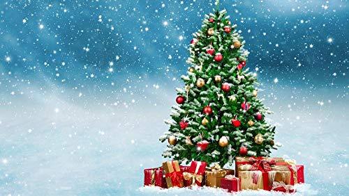 HRXBH Murale 3D Autoadesivo Regalo Creativo Delle Palle Dell'Albero Di Natale Di Natale Decorazione Della Carta Da Parati Del Negozio Di Frutta Della Palestra Dell'Ufficio Del Rist(W)300x(H)210cm