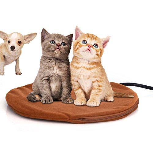 Berocia Cama Perro pequeño Gato Mascota colchoneta Manta Cojín de calefacción Cama...