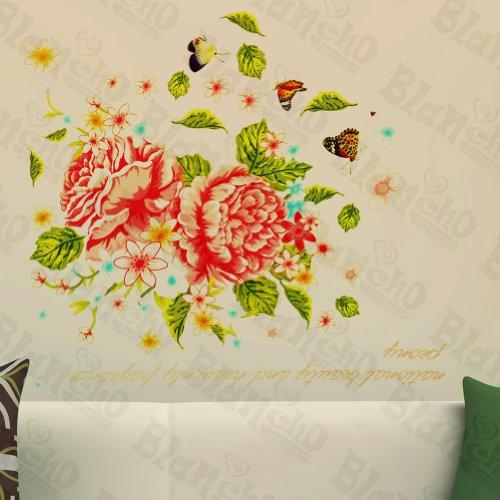 Geminate patchs à fleur – Stickers muraux Stickers Décoration intérieure