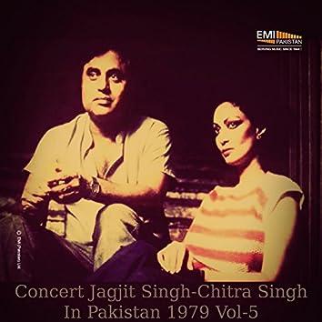 Concert Jagjit Singh - Chitra Singh in Pakistan, Vol. 5 (Live)