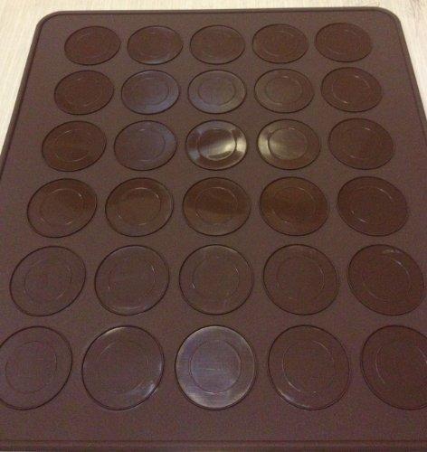 Tapis à Macarons anti-adhésive 30 moules