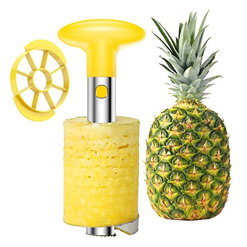 Easy Kitchen Tool Stainless Steel Fruit Pineapple Peeler Corer Slicer Cutter
