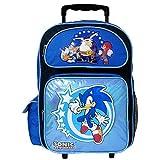 16' Sonic the Hedgehog Rolling Backpack-tote-bag-school