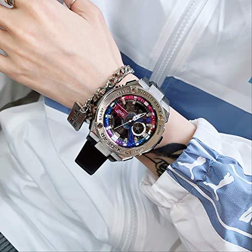 Miwaimao Unicornio Reloj Masculino Reloj Electrónico Femenino Ins Viento Estudiante Pareja Tendencia Impermeable Top Diez Marcas Lámpara De Mano Mecánica