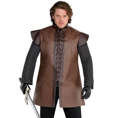 amscan 848835-55 Plus Size Warrior Tuniek Kostuum, 1 Pc
