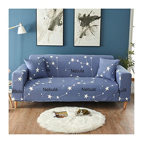 OYZK Sofa-Cover für Ecksofa-elastisches wasserdichtes Wohnzimmer für 1/2/3/4 Sitzer (Color : Transparent, Specification : 3 Seat 190 230CM)