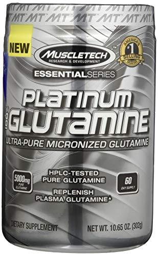 Muscletech Essential Series Platinum 100% Glutamine Standard, 300 g