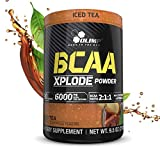 BCAA Powder - BCAAS Amino Acids - Amino Acid Supplements - BCAA Energy - Essential Amino Acids - BCAA Amino Acids - L-Glutamine Powder - BCAA Glutamine - Olimp Xplode - Iced Tea - 9.5 oz - 30 Servings