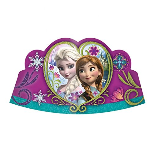Disney La reine des neiges pour fête à strass x 8 diadèmes