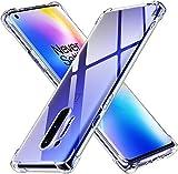 ivoler Klar Silikon Hülle für OnePlus 8 Pro mit Stoßfest Schutzecken, Ultra Dünne Weiche Transparent Schutzhülle Flexible TPU Durchsichtige Handyhülle Kratzfest Hülle Cover