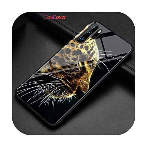 Phonecase - Funda para Huawei P Smart Z Plus 2019, P30, P20, Pro, P10, P9, P8 Lite Plus, color negro brillante