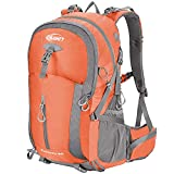 SAMIT Hiking Backpack 40L Camping Backpack with Waterproof Rain Cover Hiking Daypack Lightweight...