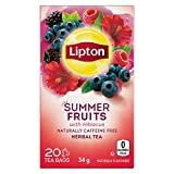 Lipton Summer Fruits with Hibiscus Herbal Tea for a Refreshing Caffeine Free Experience