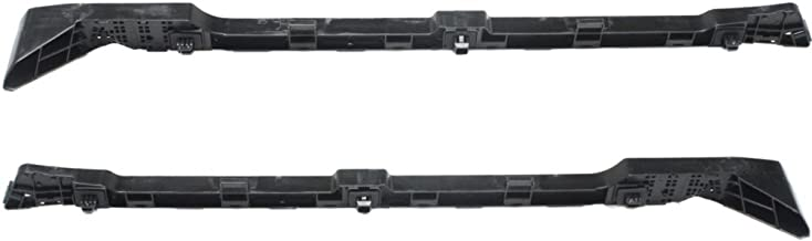 Rear Bumper Bracket compatible with Honda Accord 13-17 Right and Left Side Side Cover Spacer Plastic Sedan