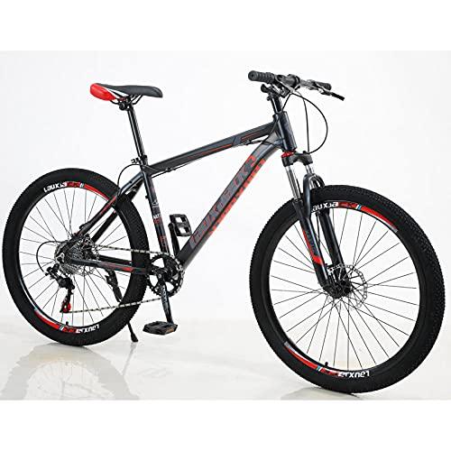 Mountainbike, Scheibenbremse Minuscat, Outdoor, Riding Club-Schwarz Rot_7 Geschwindigkeitluftfahrtaluminium Faltbar