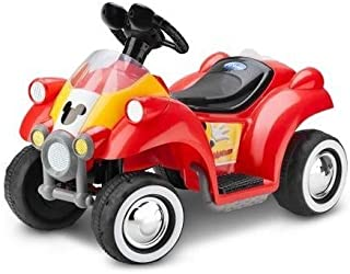 Mickey Mouse Hot Rod Quad 6v Battery-powered Ride-on By Kid Trax by Disney