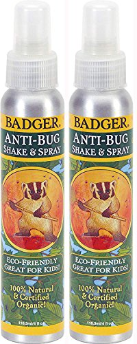 Badger Anti-Bug Repellent Spray - 4 oz, 2 Pack