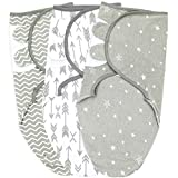 Swaddle Blankets, 3-6 Months, Grey