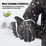 SAVIOR beheizte Handschuhe mit wiederaufladbare Lithium-Ionen-Batterie Beheizt für Männer und Frauen, arbeitet bis zu 2,5-6 Stunden (XL) - 5