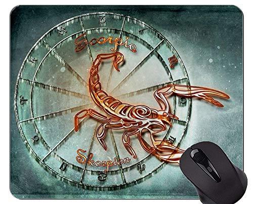 Gaming Mouse Pad Benutzerdefinierte, Skorpion Sternzeichen Sternbild Astrologie Themen von Mauspads