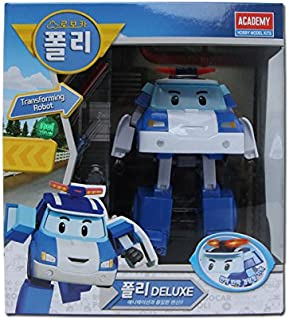 Robocar Poli Deluxe Transforming Robot Toy - Poli