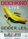 DEICHKIND - 2012 - Konzertplakat - Concert - Geider LEIL -