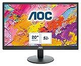 AOC E2070SWN - Monitor de 19.5' (1600 x 900, con tecnología LED, 5 ms) Color Negro