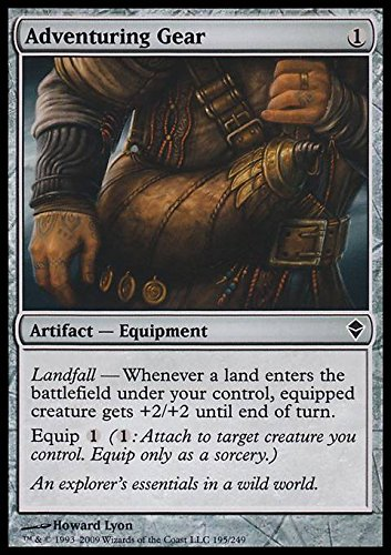 Magic The Gathering - Adventuring Gear (195) - Zendikar