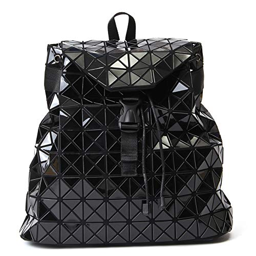 Geometrischer Rucksack, holografisch, reflektierend, modischer Rucksack