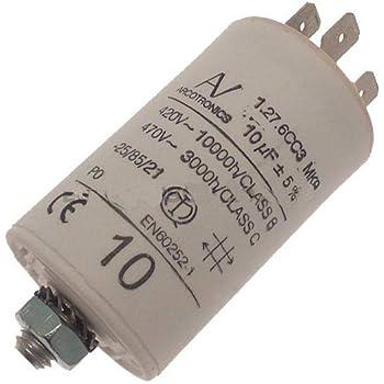 Came Condensateur Conµfaston Et Queue 10 µf Amazon Fr Commerce Industrie Science