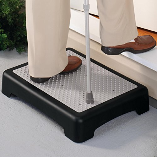 Non-Slip Indoor/Outdoor 4 Inch Height Mobility Platform Step Best Step Risers